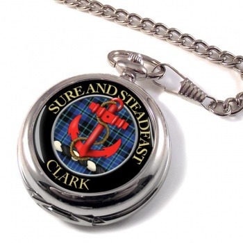 Clark anchor Scottish Clan Pocket Watch
