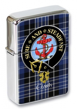 Clark anchor Scottish Clan Flip Top Lighter