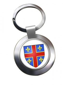 Clermont-Ferrand (France) Metal Key Ring