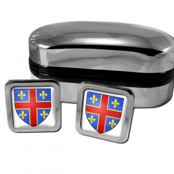 Clermont-Ferrand France Square Cufflinks