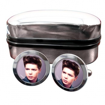 Cliff Richard Round Cufflinks