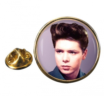 Cliff Richard Round Pin Badge