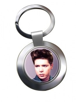 Cliff Richard Chrome Key Ring
