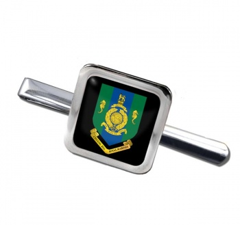 Commando Logistic Regiment Royal Marines Square Tie Clip