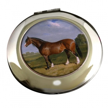 A Clydesdale Stallion by Herring Mirror