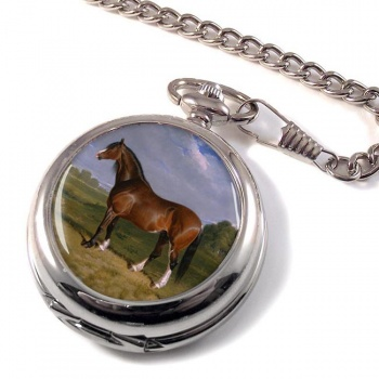 A Clydesdale Stallion by Herring Pocket Watch