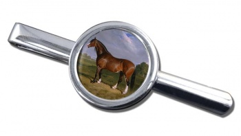 A Clydesdale Stallion by Herring Tie Clip