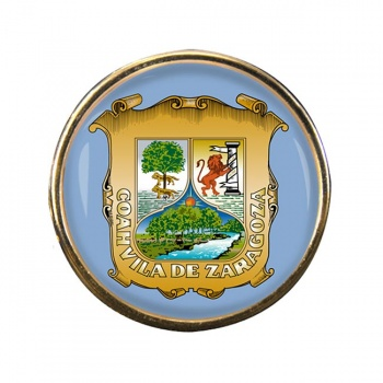 Coahuila (Mexico) Round Pin Badge