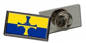 County Durham (England) Flag Pin Badge