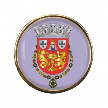 Coimbra (Portugal) Round Pin Badge