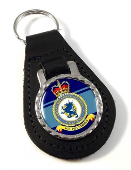 RAF Station Colerne Leather Key Fob
