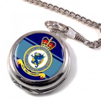 RAF Station Colerne Pocket Watch