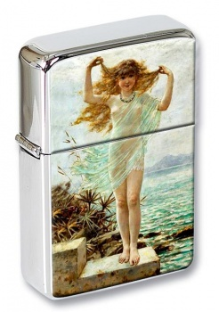 A Naiad by Coleman Flip Top Lighter
