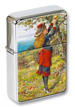 Picking Apples by Coleman Flip Top Lighter