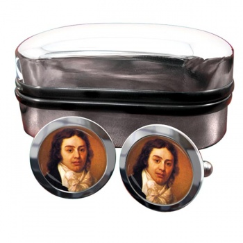 Samuel Coleridge Round Cufflinks