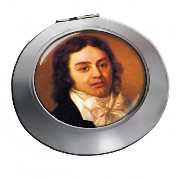 Samuel Coleridge Chrome Mirror