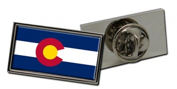Colorado  Flag Pin Badge