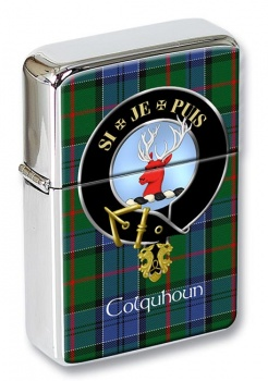Colquhoun Scottish Clan Flip Top Lighter