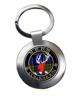 Colquhoun Scottish Clan Chrome Key Ring