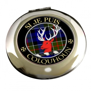 Colquhoun Scottish Clan Chrome Mirror
