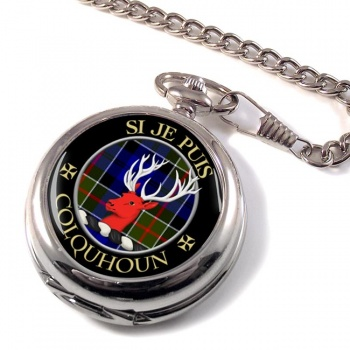 Colquhoun Scottish Clan Pocket Watch