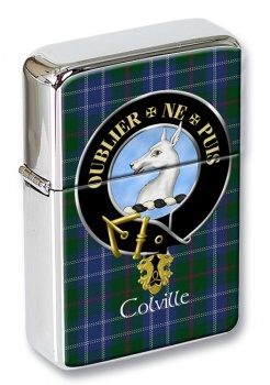 Colville Scottish Clan Flip Top Lighter