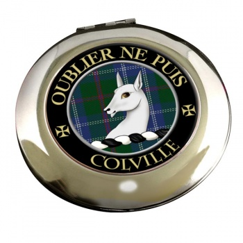Colville Scottish Clan Chrome Mirror