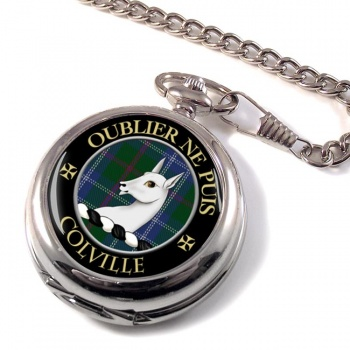Colville Scottish Clan Pocket Watch