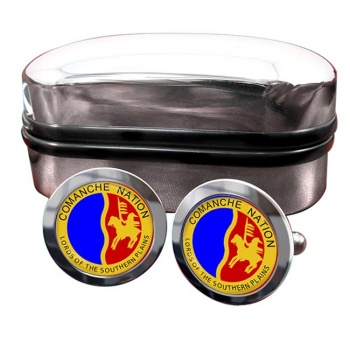 Comanche Nation (Tribe) Crest Cufflinks