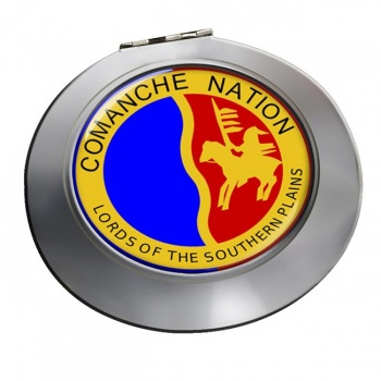 Comanche Nation (Tribe) Round Mirror