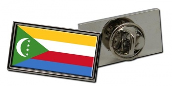 Comoros Flag Pin Badge