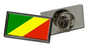 Congo Flag Pin Badge