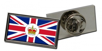 Consular Officer Rectangle Tie Pin