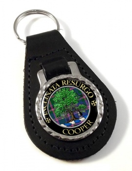 Cooper Scottish Clan Leather Key Fob