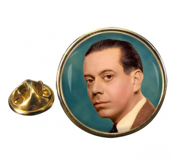 Cole Porter Round Pin Badge
