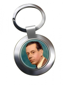 Cole Porter Chrome Key Ring