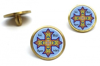 Coptic Cross Golf Ball Markers