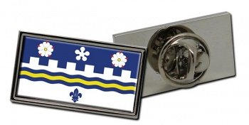 Coquitlam (Canada) Flag Pin Badge