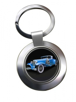 1929 Cord Cabriolet Chrome Key Ring