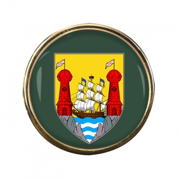 Cork City (Ireland) Round Pin Badge
