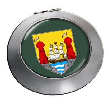 Cork City (Ireland) Round Mirror