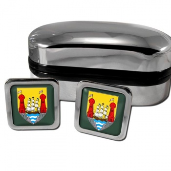 Cork City Ireland Square Cufflinks