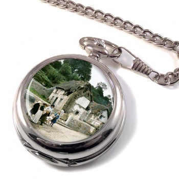 A Cornish Village Pocket Watch