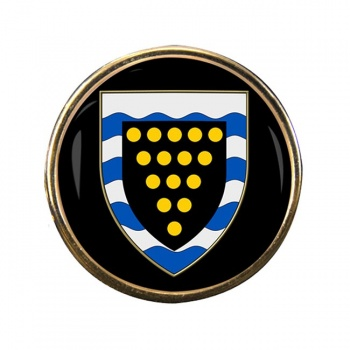 Cornwall (England) Round Pin Badge
