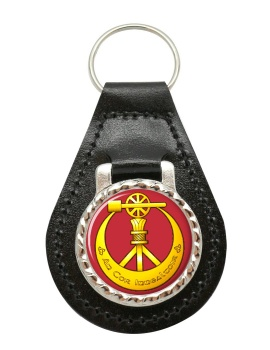 Corps of Engineers (Ireland) Leather Key Fob