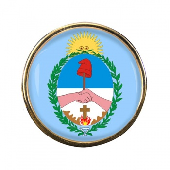 Argentine Corrientes Round Pin Badge