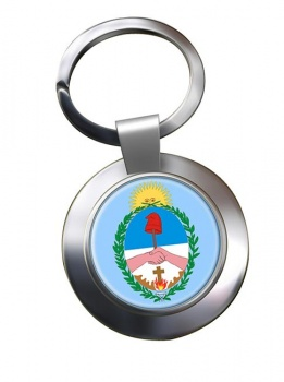 Argentine Corrientes Metal Key Ring