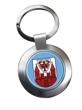 Cottbus (Germany) Metal Key Ring