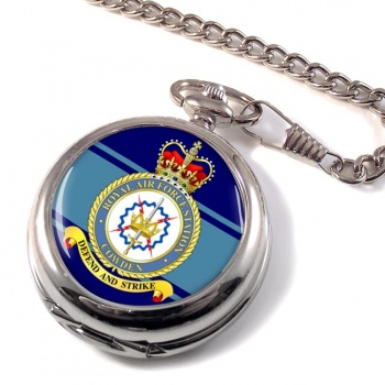 RAF Station Cowden Pocket Watch