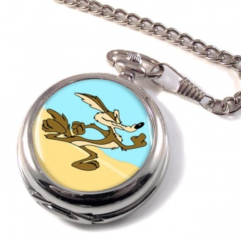 Coyote Pocket Watch